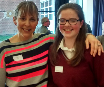 Annie Thorpe, BHS student through to the final of the GDST Chrystall Prize Public Speaking competition