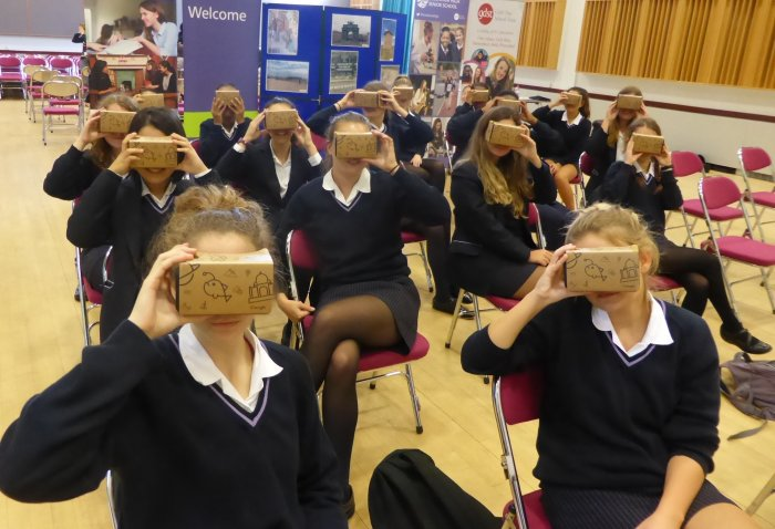 Year 11 students going to Moscow in VR!
