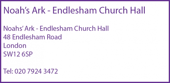 Noah's Ark - Endlesham Church Hall