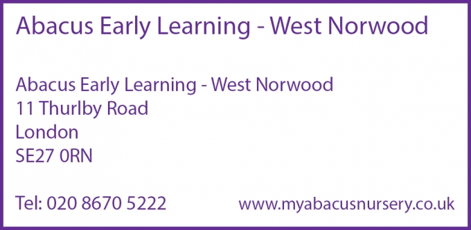 Abacus Early Learning - West Norwood