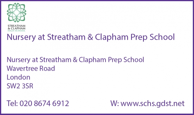 NURSERY AT STREATHAM & CLAPHAM PREP SCHOOL