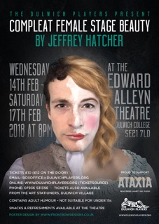 Dulwich Players - Compleat Female Stage Beauty - 14th to 17th February, Edward Alleyn Theatre