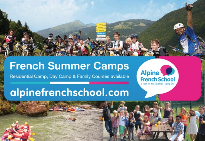 Alpine French School French Summer Camps: Day and Residential Camp