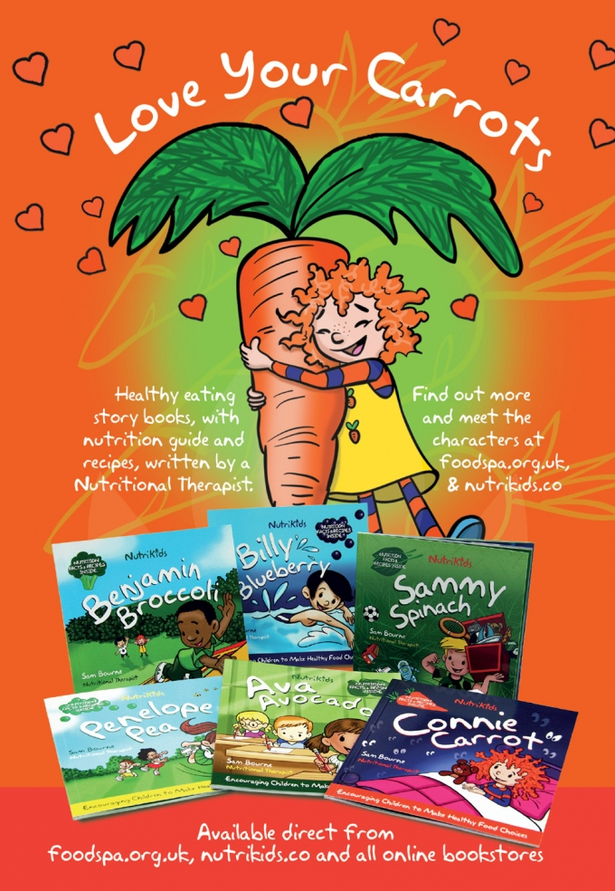 HEALTHY EATING STORY BOOKS