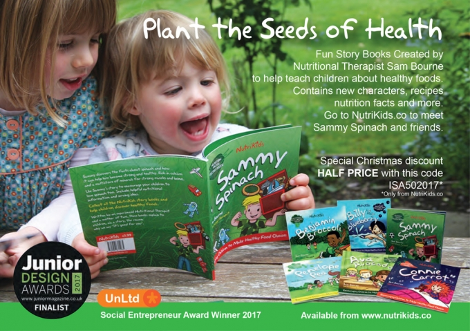 PLANT THE SEEDS OF HEALTH - FUN STORY BOOKS