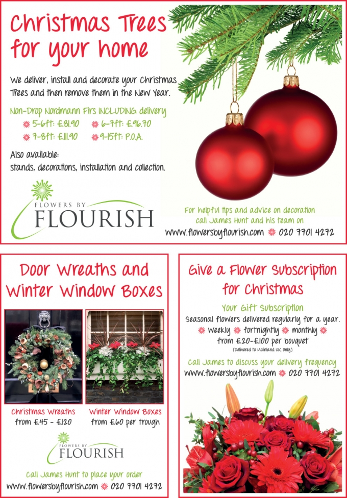 Christmas Trees, Door Wreaths & Flower Delivery