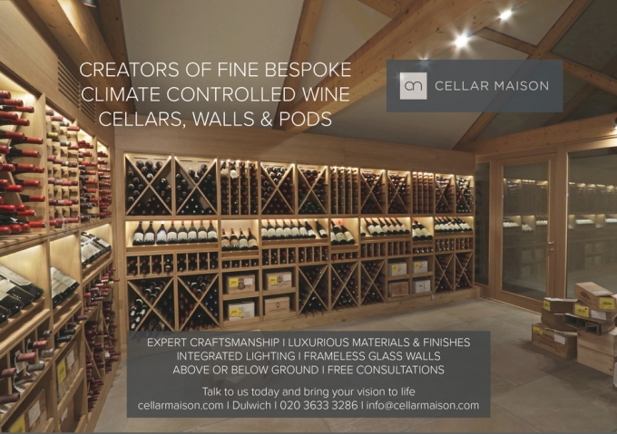 BESPOKE CLIMATE CONTROLLED WINE CELLARS, WALLS & PODS