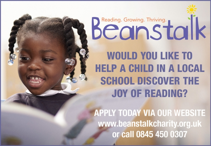 Volunteer to Help a Child Discover Reading
