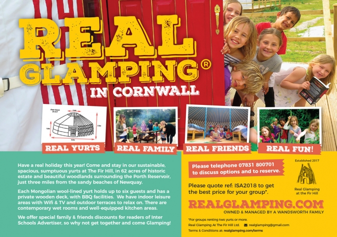 Real Glamping in Cornwall