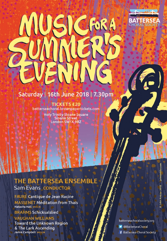 BATTERSEA CHORAL SOCIETY SUMMER CONCERT
