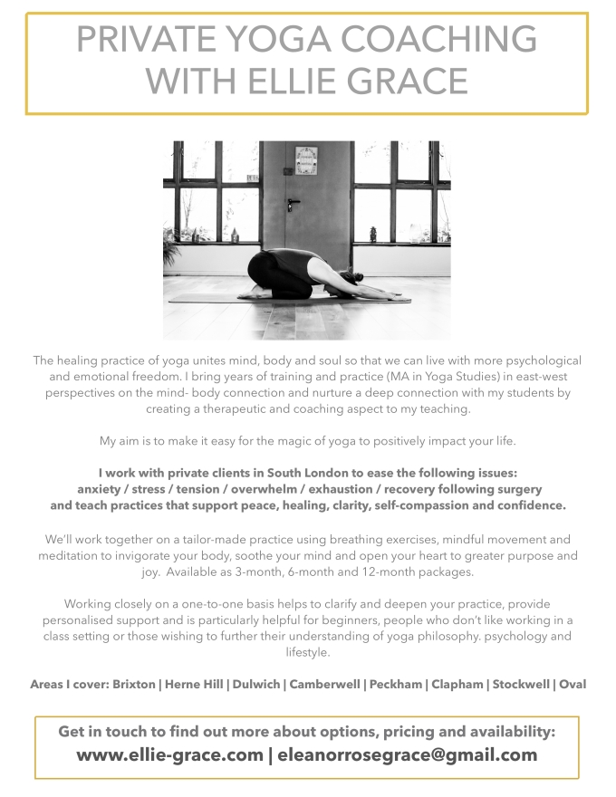 Private Yoga Coaching