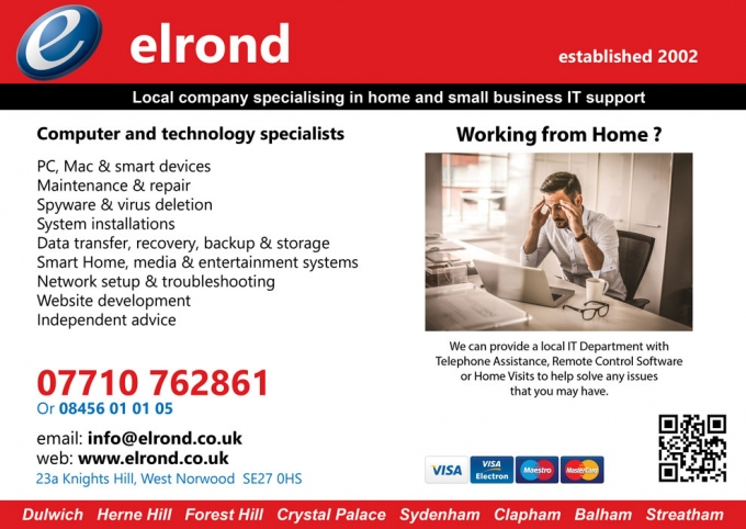 ELROND - COMPUTER & TECHNOLOGY SPECIALISTS
