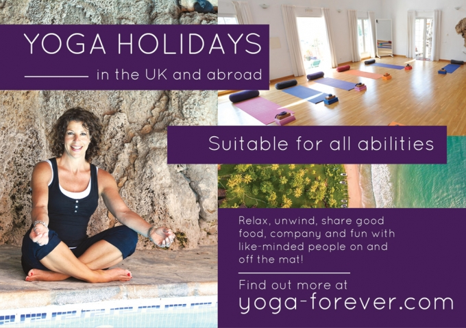 YOGA HOLIDAYS - UK AND ABROAD