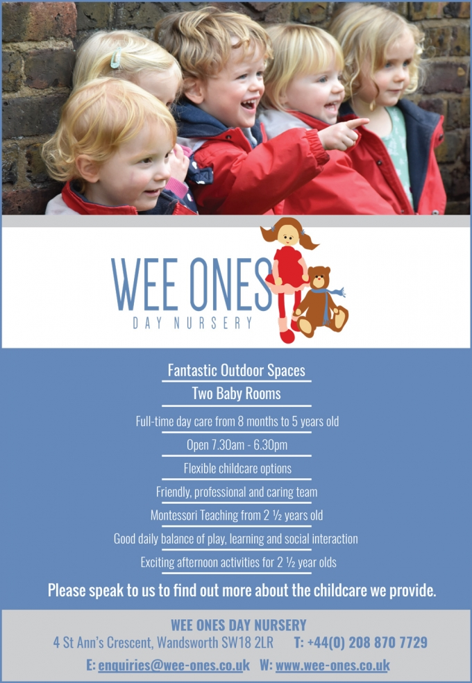 WEE ONES DAY NURSERY