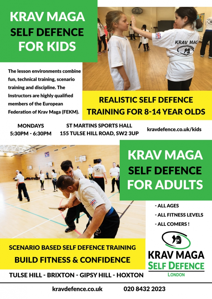 Krav Maga Self defence for kids and adults