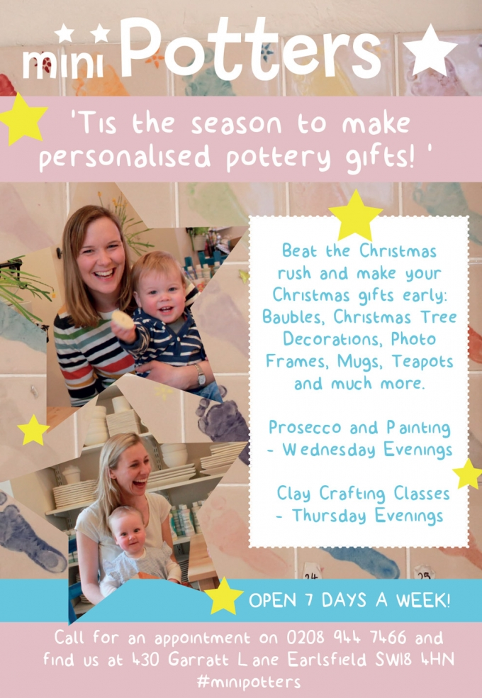 Pottery Painting & Clay Crafting Studio