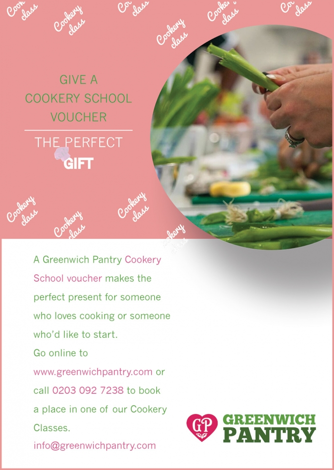 Cookery School Voucher