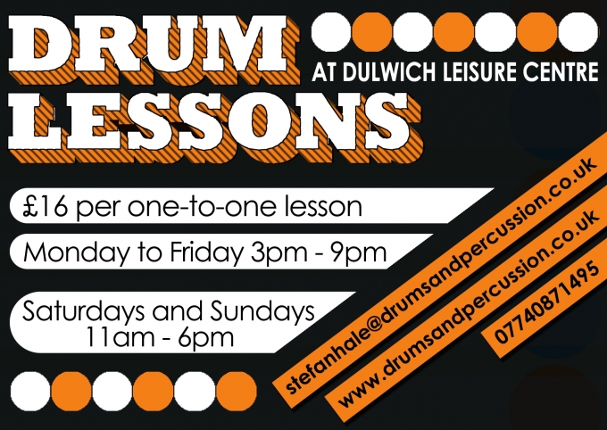 Drum Lessons at Dulwich Leisure Centre