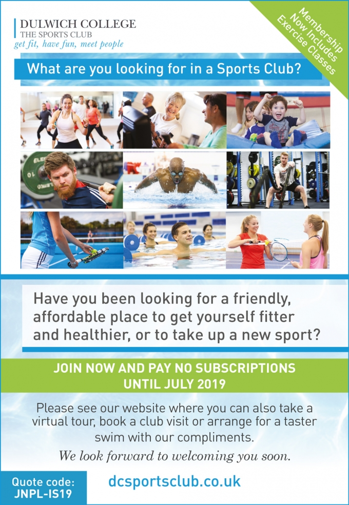 Dulwich College SPORTS CLUB - CLUBS, CLASSES & holiday camps