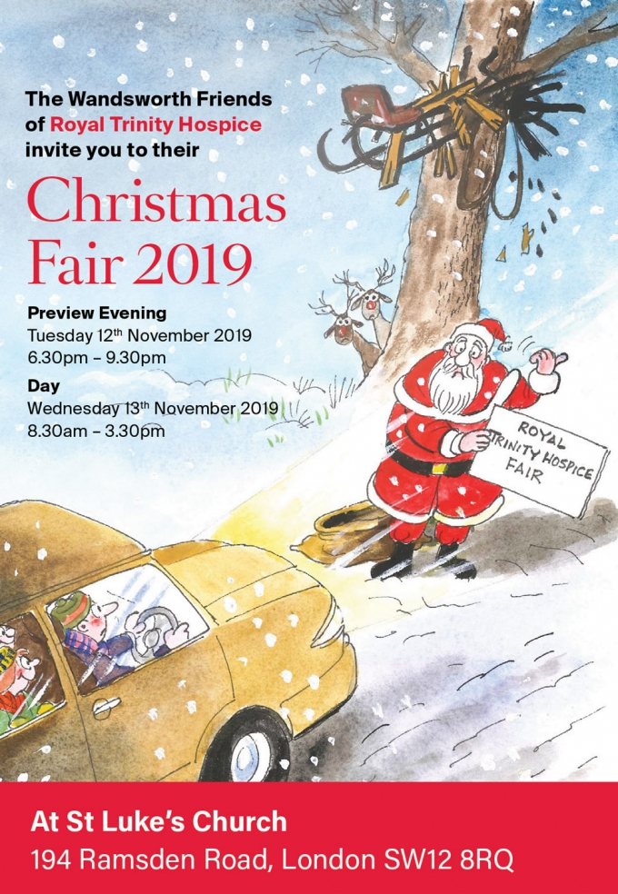 Wandsworth Friends of Royal Trinity Hospice - Christmas Fair