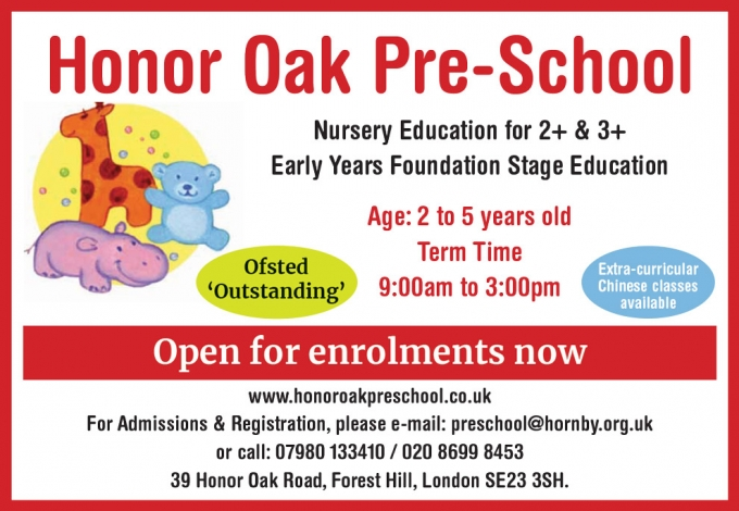 Honor Oak Pre-School