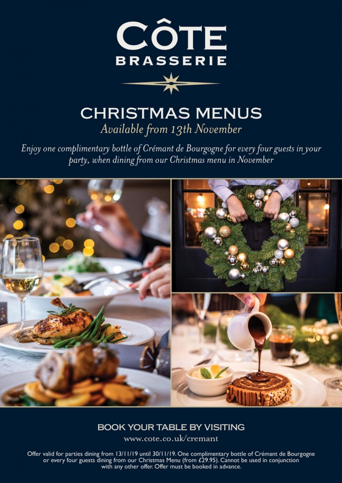 CHRISTMAS MENU OFFERS