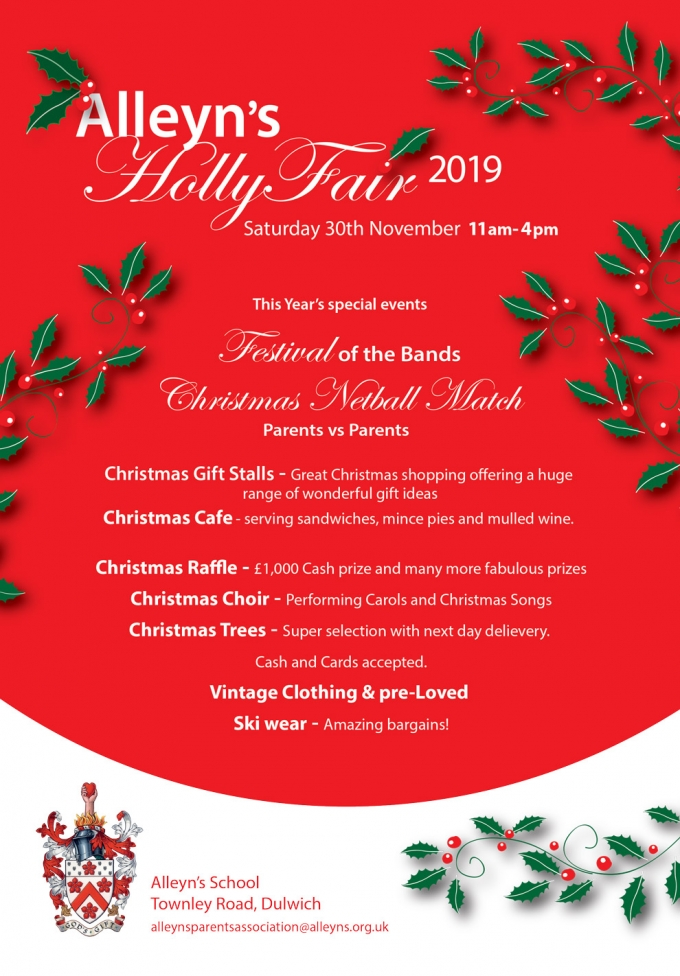 ALLEYN'S - HOLLY FAIR
