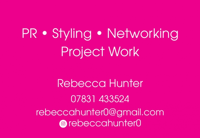 STYLING, PR & NETWORKING